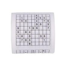 Прочный Sudoku Su печатных ткани рулон туалетной бумаги хорошая игра-головоломка