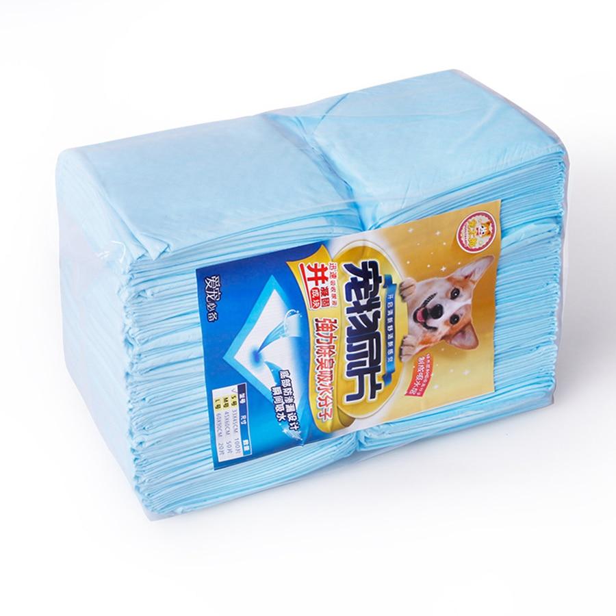 Fournitures de nettoyage de chiot couches pour chiens absorbant hygiène chien tampons d'urine couches Perros jetables Hoopet produits pour animaux de compagnie 50M0050