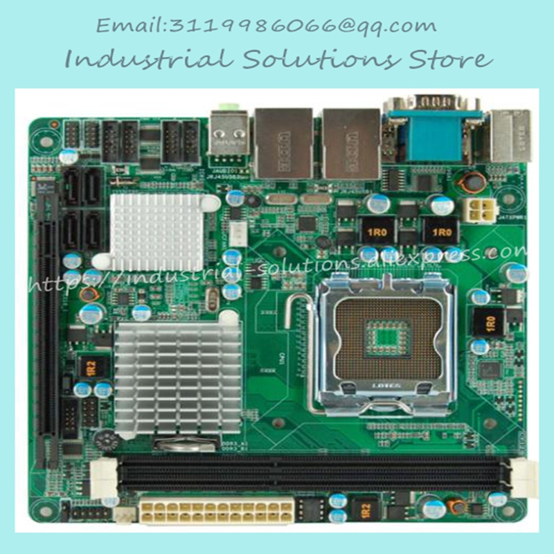 Mini-itx Motherboard SYS-76843VGGA Quad-core Dual Display Dual Network 6 Serial Pcie16X 100% tested perfect quality m945m2 945gm 479 motherboard 4com serial board cm1 2 g mini itx industrial motherboard 100