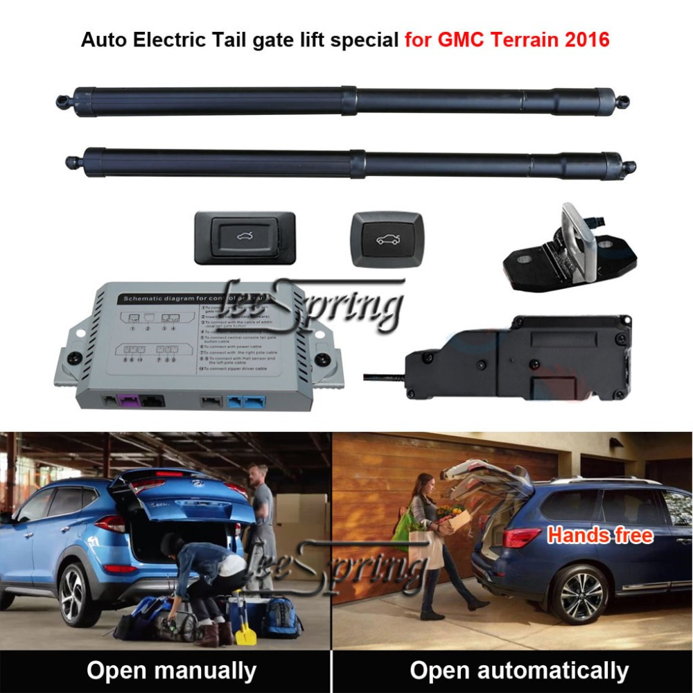 Smart Auto Electric Tail Gate Lift Special For GMC Terrain 2016