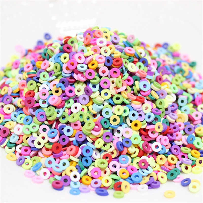 15g/bag Colorful Slime Filling Charm DIY Clay Mud Decoration Craft Toy for Fluffy Slime For Kids