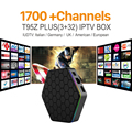Octa Core Android Árabe IPTV CAJA T95ZPLUS Envío 1700 Europa Árabe IPTV Canales S912 3 GB/32 GB TV Box KODI Reproductor Multimedia WIFI H265