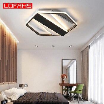 Luminaires De Plafond Lumineux   LOFAHS Moderne Led Lustre Hexagone Haute Luminosité Lumières Pour Salon Chambre Maison Lustre Plafonniers