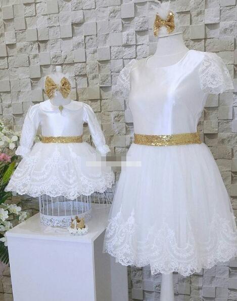 White girls pageant dress birthday girl dress kids white Bow tie dress цена 2017