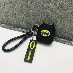 Image 5 - Hot Batman The Dark Knight Earphone Cases For Apple Airpods Wireless Bluetooth Headset Silicone Cover For Air pods 2 Accessories