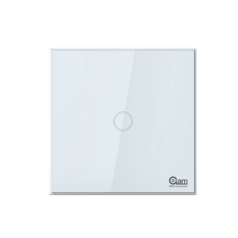 NEO COOLCAM Z-wave plus 1CH EU Wall Light Switch Home Automation ZWave Wireless Smart Remote Control Light Switch neo coolcam smart home z wave plus 1ch eu light switch compatible with z wave 300 series and 500 series home automation
