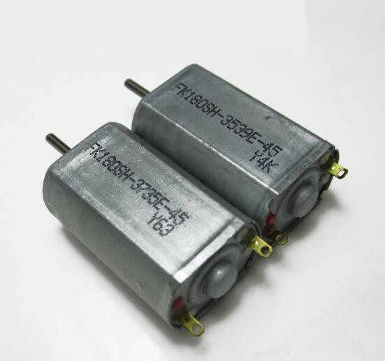 2 stücke 180 high speed micro DC motor metall carbon pinsel motor 3,7 V DIY modell flugzeug