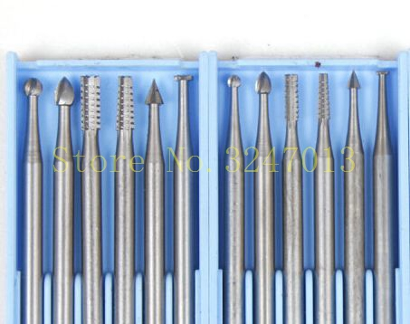 FREE SHIPPING  6PCS/SET Rotary Tools Carving Burs For Jewelry Setting Tools