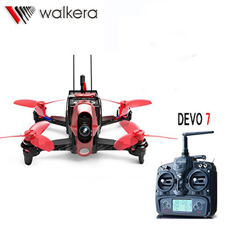 Walkera Mini Rodeo 110 RC FPV 110mm RTF BNF DEVO 7 DEVO 10 Transmitter TX 600TVL Camera Quadcopter Racing Drone walkera aluminum case for devo f12e fpv radio 5 8ghz transmitter silver