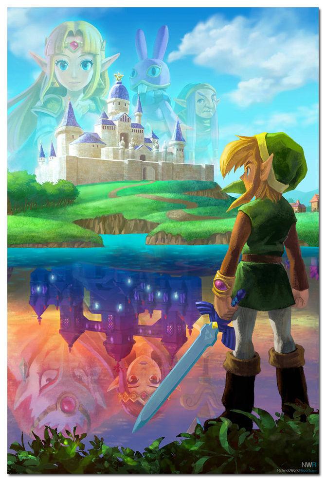 The Legend Of Zelda A Link Between Worlds Wallpaper Labzada Wallpaper