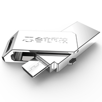High Speed Teclast Dual Plug OTG 32GB USB Flash Drive For Android Phone Tablet PC 32