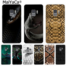 MaiYaCa Animal Snake Crocodile Funny Cartoon Phone Case Fashion for Samsung S9 S9 plus S5 S6 S6edge S6plus S7 S7edge S8 S8plus(China)