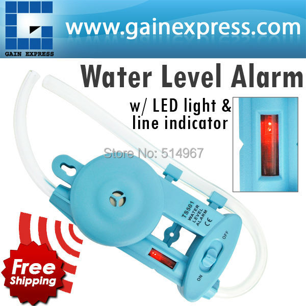 Wall-mounted Electronic Water Level Alarm with Power Lamp & Level line Indicator Groove Fences Decks Cabinets Framing Leveling 660v ui 10a ith 8 terminals rotary cam universal changeover combination switch