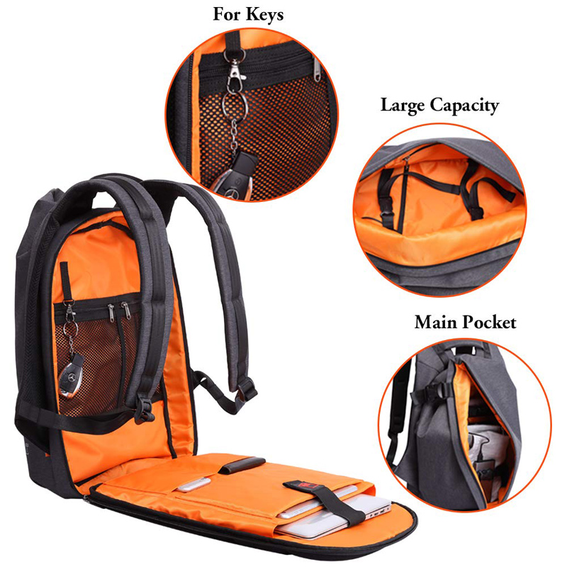 USB port waterproof backpack 1