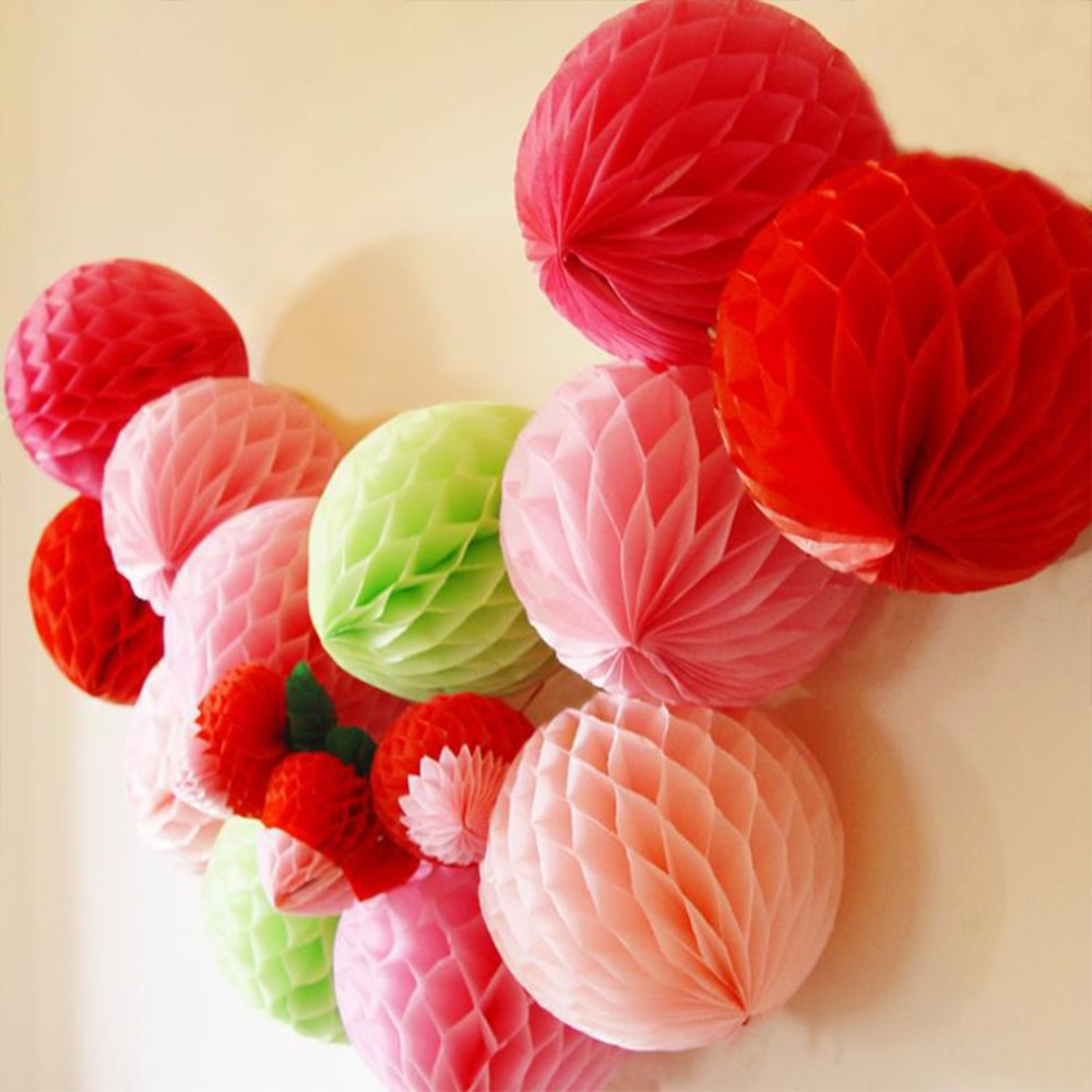 Origami flower ball reviews online shopping origami flower ball 5pcslot pom pom balls flower diy decorative origami tissue paper honeycomb pastel beehive honeycomb lantern wedding party decor dhlflorist Image collections