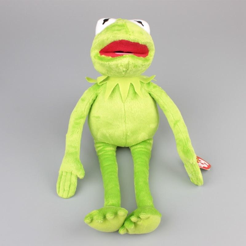 "16"" 40cm Sesame Street Kermit Frog Plush Toy Stuffed Animals Soft Dolls 1"