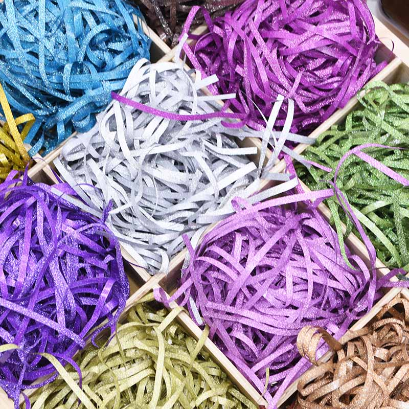 20g/bag Glitter Blush Shredded Tissue Paper Confetti Gift Box Basket Filler For Birthday Wedding Party Favor Packaging Supplies