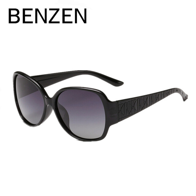 Sunglasses Women Polarized Female Sun Glasses Vintage Oversized Sunglasses Shades Driving Glasses With Case 6081