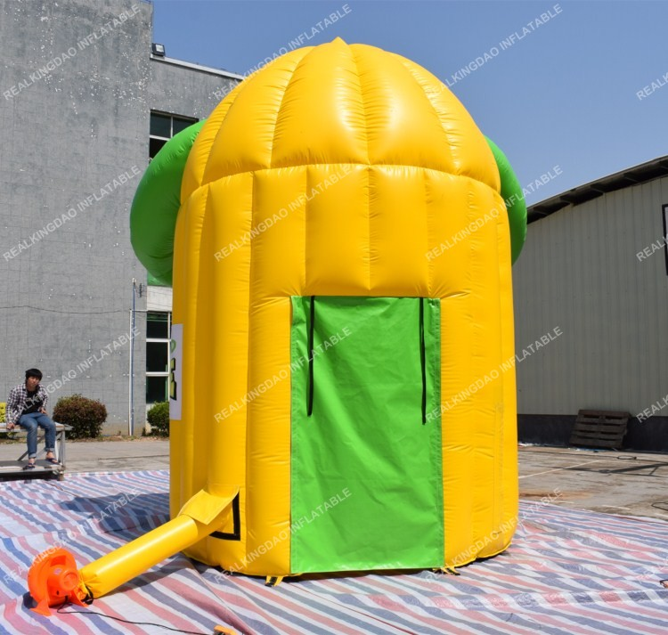 Free Shipping Smiling Face Inflatable Lemonade Booth Kiosk for Sale(Free banners and CE or UL certificated Blower)