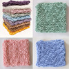 Winter Crochet Blanket Newborn Photography Props Cotton Crochet Wraps Photo Props Basket Stuffer Background Filler Shower