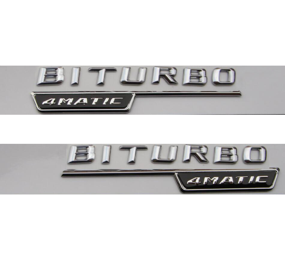 BITURBO 4MATIC EMBLEM