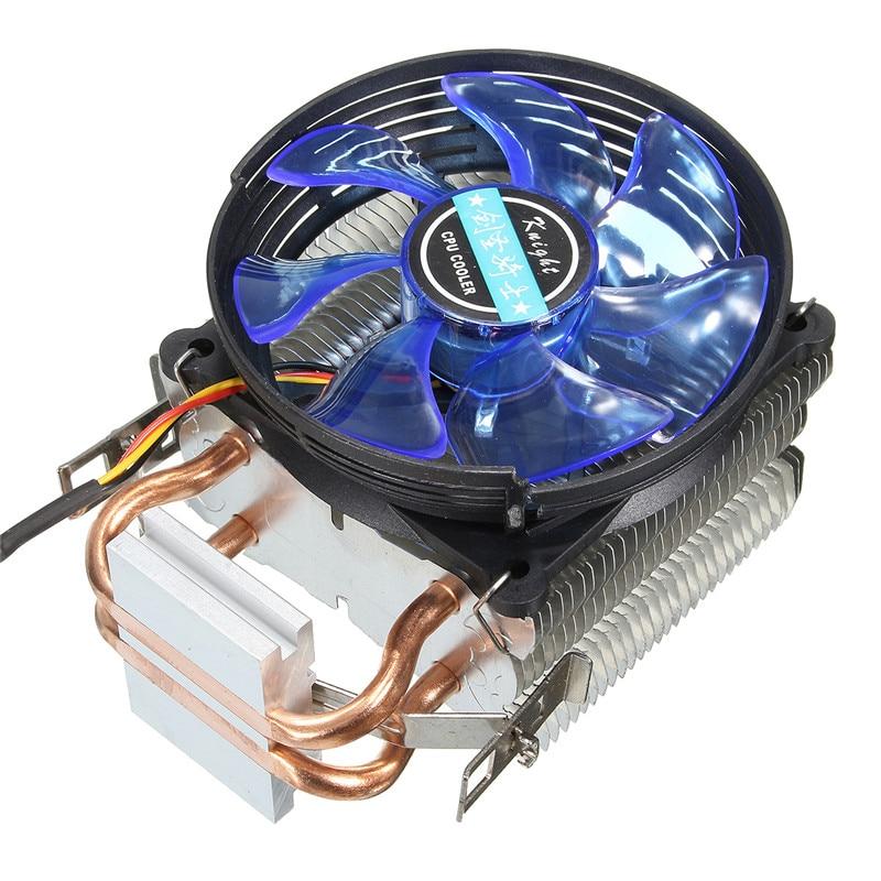 High Quality 95x95x25mm LED Cooler CPU Fan Cooler Cooling Heatsink Copper for Intel LGA775/1156/1155 for AMD AM2/AM2+/AM3 sealmark