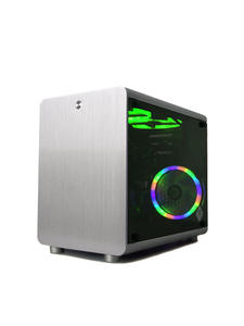 Gamer-Cooling-Case Frame ITX Computer Air-Chassis ATX Small All-Aluminum Mini Gabinete