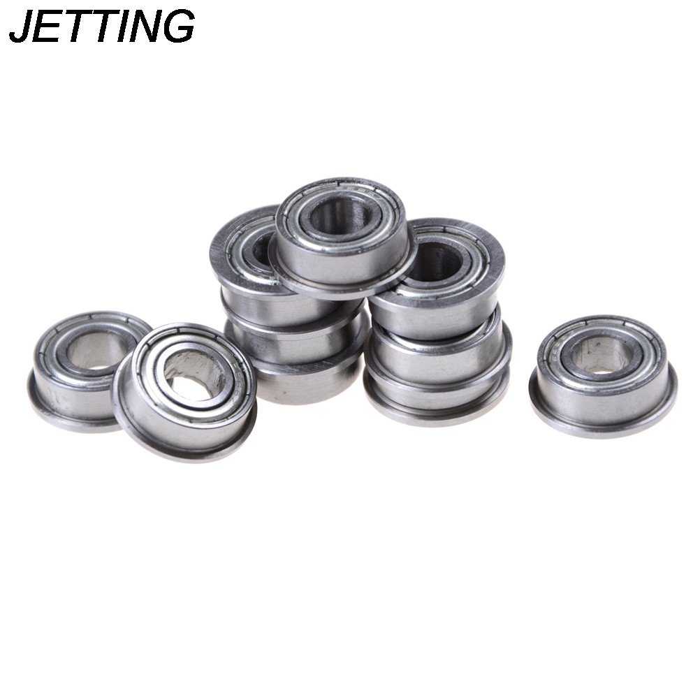 6x13x5 mm F686zz Metal Flanged Ball Bearing Bearings 10pcs