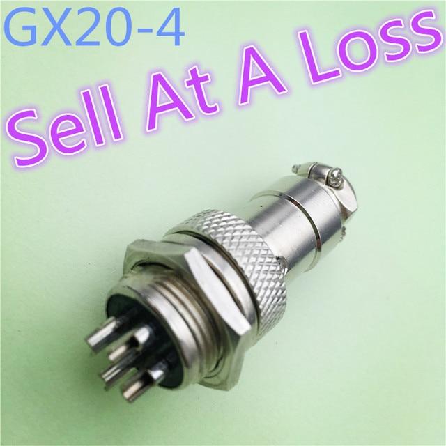 1 teile/los L96 GX20 4 Pin Male & Female 20mm Draht Panel Luftfahrt ...