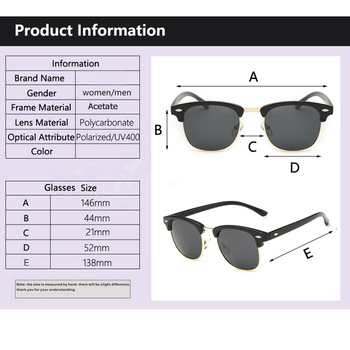 UV400  Polarized Sunglasses men women Classic cool retro Sun glasses Coating  man Driving Shades fashion male oculos 6