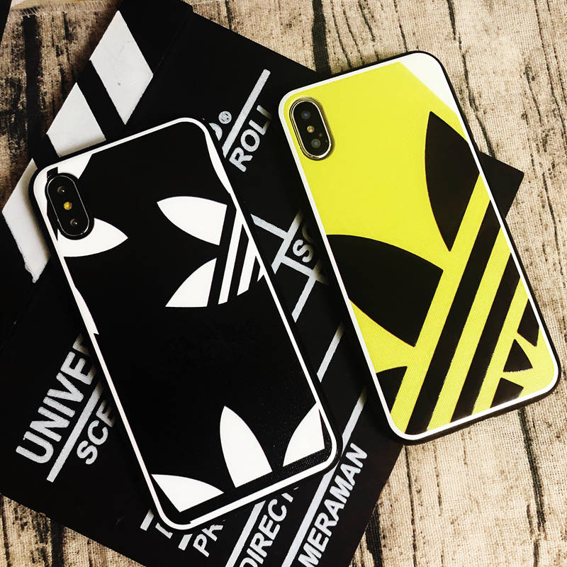 0ee534c8b41 Luxury Three Grass Leaf White Arrow Lines Sports Style Phone Case for iphone  6 6
