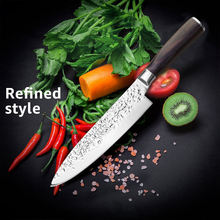 kitchen knife Set Chef knives Japanese 7CR17 440C High Carbon Stainless Steel Santoku Utility slicer Paring Meat Cleaver knife(China)