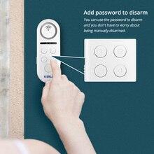 KERUI 1 Uds lote 120dB Wifi inalámbrico Sensor de ventana puerta campana de bienvenida sistema de alarma APP Control remoto Detector de seguridad para el hogar