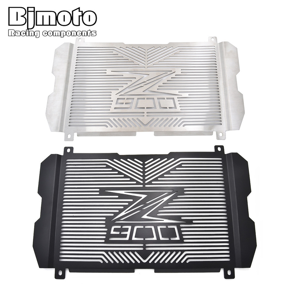 BJMOTO New Motorcycle Stainless Steel Radiator Grille Guard Protection For Kawasaki Z900 Z 900 2017 for kawasaki z750 z 750 2007 2015 2011 2012 2013 2014 stainless steel motorcycle black radiator grille guard protection cover