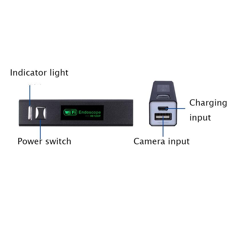 Image 5 - كاميرا تنظير F150 WiFi عدسة 8 مللي متر كاميرا صغيرة HD1200P سلك صلب لين مقاوم للماء واي فاي فحص borescope للهواتف الأندرويدendoscope camerasurveillance camerawifi endoscope -