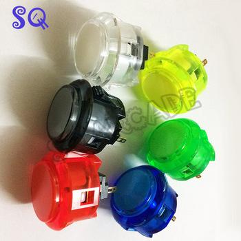8 sztuk partia oryginalny Sanwa OBSC-30 przyciski dla arcade DIY części szafy PS4 gra Push button HORI street five five tanie i dobre opinie Pchacz 3 lat