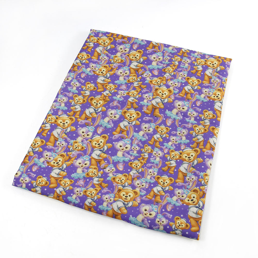 50 145cm cartoon patchwork polyester cotton fabric for for Sewing material for sale