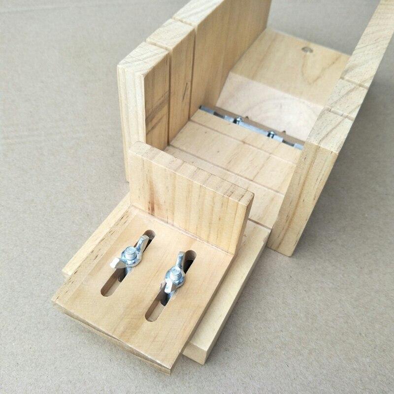 Sabão artesanal diy ferramenta material de madeira