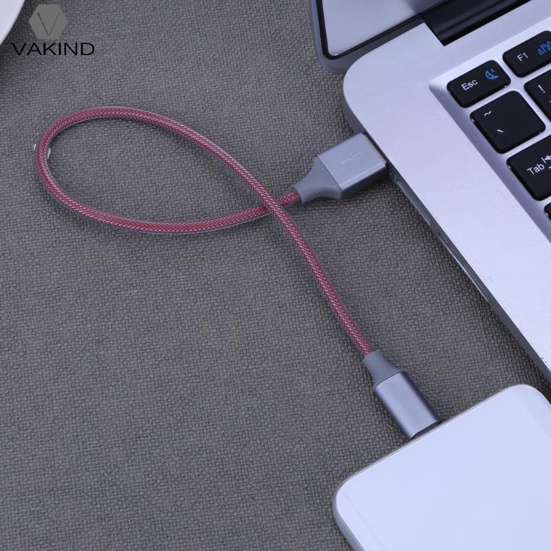 0.3 м/11.8 Плетеный Тип USB-C зарядный кабель USB-C Тип c синхронизации передачи данных Шнур провода линии для Планшеты PC