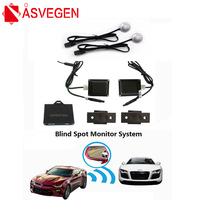 Asvegen BSD BSA Radar Blind Safer Spot Detection System Microwave Blind Spot Monitoring BSM Car Driving Security Warning Buzzer