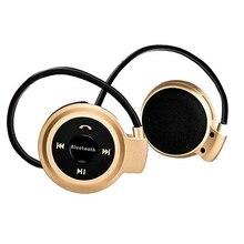 Mini 503 Ceia Baixo Música Fones De Ouvido Música Esporte Bluetooth 4.0 Sem Fio Fones De Ouvido para Telefones Com Micro SD Slot Para Cartão TF + rádio FM 6B4