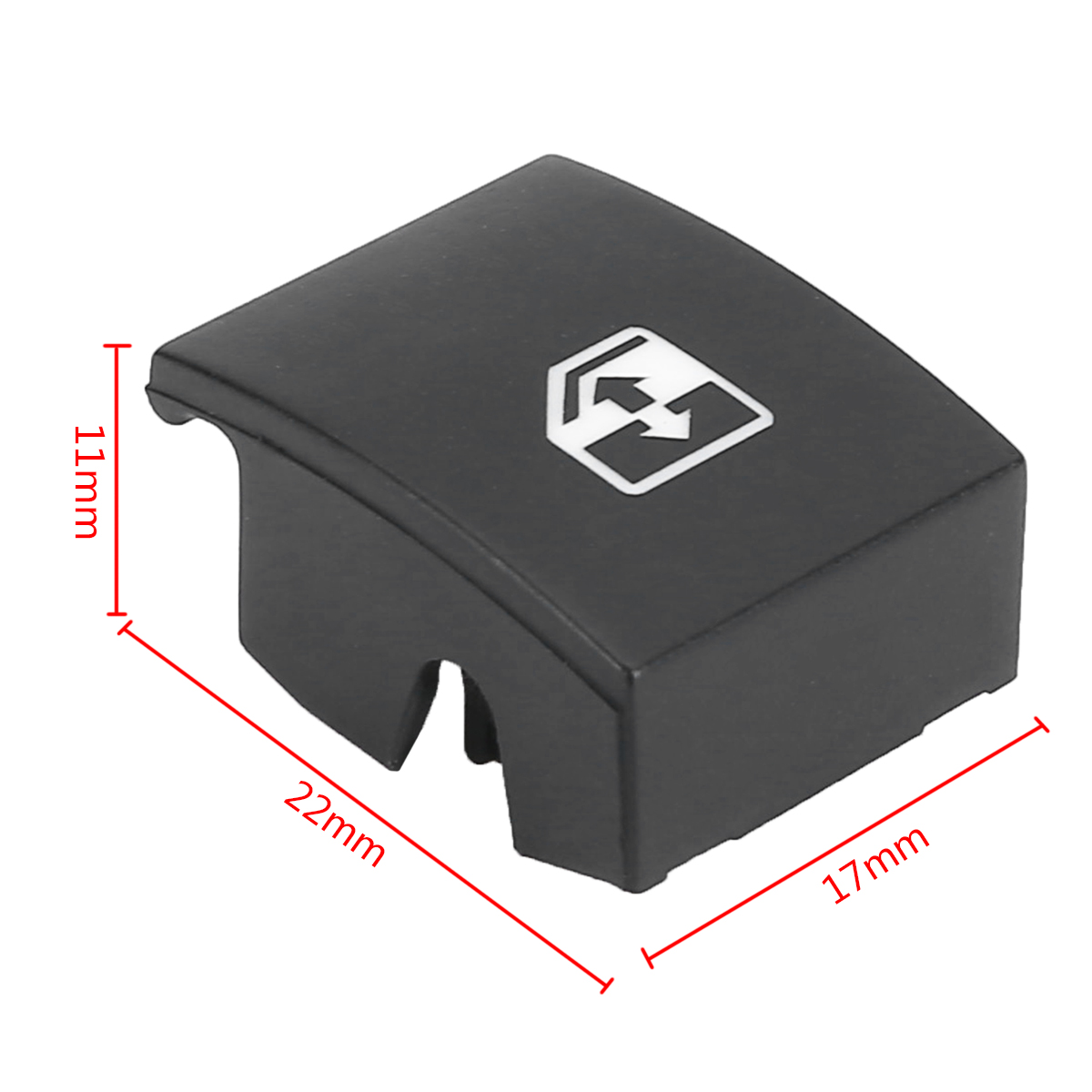 Image 4 - 1pc Black Plastic Window Switch Button Cover 13228881 6240452 Replacement For VAUXHALL OPEL ASTRA MK5 H ZAFIRA/TIGRA B-in Car Switches & Relays from Automobiles & Motorcycles