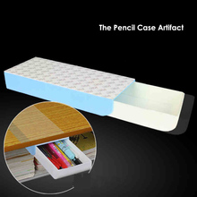 Fromthenon Pencil Cases Artifact Automatic Pop up Stealth Drawer Pencil Box With 3m Tape Creative Kawaii