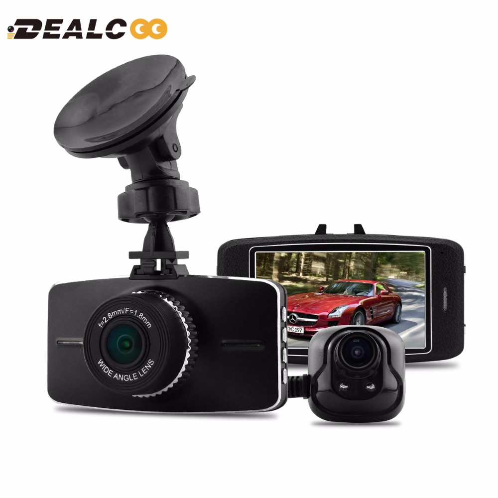 3 FHD 1080P Ambarella A7LA70 Dual Lens 170 Degree Wide Angle Car Dvr Vehicle Dash Camera Dashcam Video Registrator Recorder GPS farsun fg 2500 2d barcode scanner