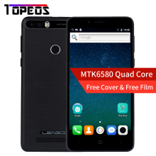 Leagoo KIICAA POWER Smartphone 5.0 INCH Android 7.0 MTK6580 Quad Core 2GB+16 GB Fingerprint 8MP 4000 mah WCDMA 3G Mobile Phone