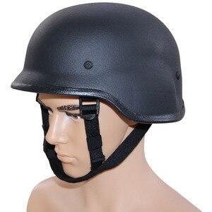 Image 1 - CCGK Пуленепробиваемый Шлем современный воин тактический M88 ABS шлем с регулируемым подбородком ремень IIIA с тестовым отчетом самообороны