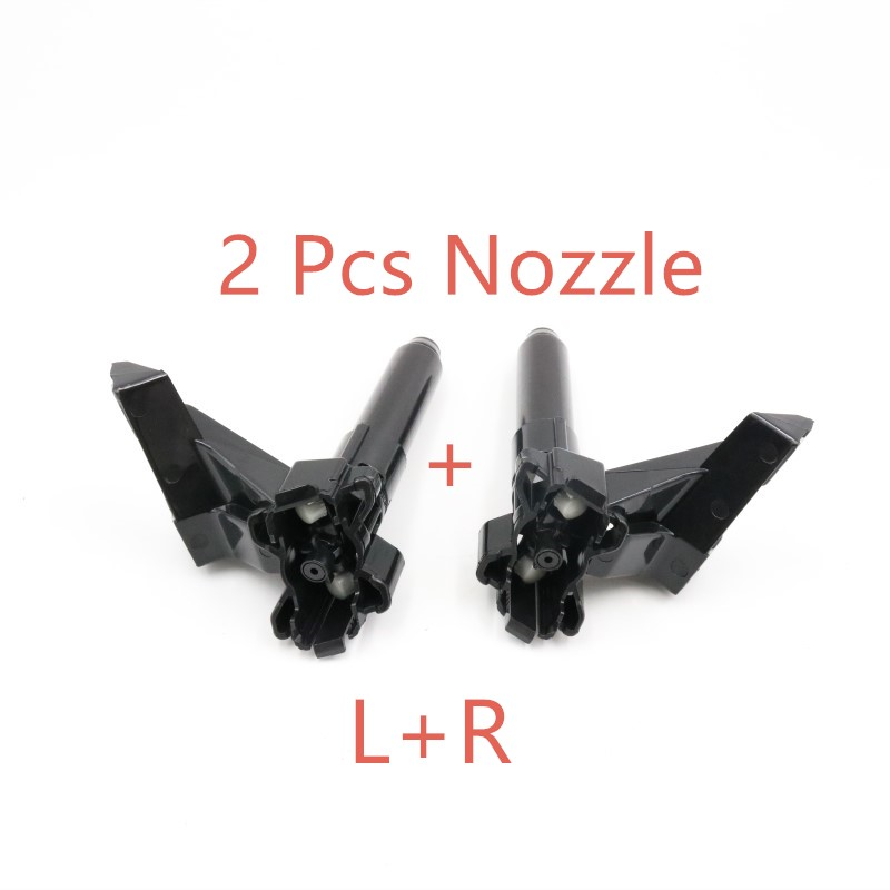 Налобный распылитель для омывателя Форсунка с крышкой для Mitsubishi Outlander - Color: 2 Pcs washer nozzle