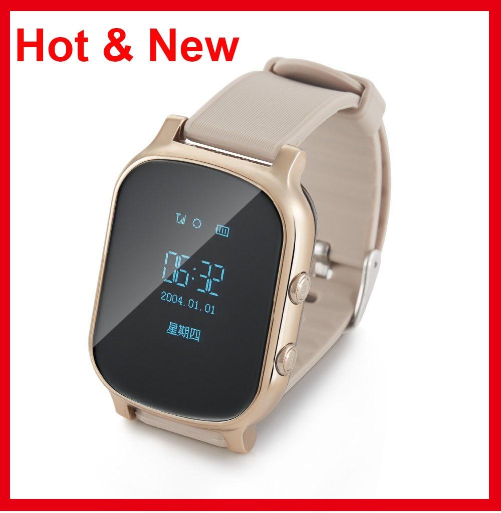 Hot Kids GSM GPS Tracker SIM For Children Kid Smart watch Phone Smart bracelet T58 Children Watchs for iOS Android