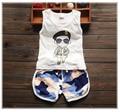 2016 Verão new baby boy roupas de estilo de moda de alta qualidade meninos roupas set para 1 2 3 anos de idade A006