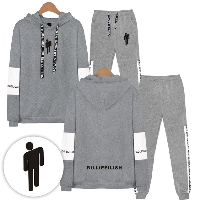 SET BILLIE EILISH HOODIE + TROUSERS (12 VARIAN)